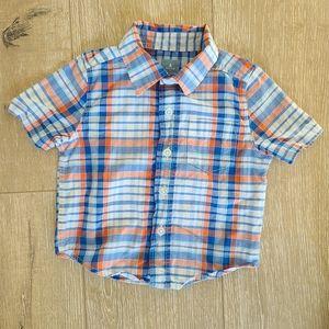 (2/$15) GAP Baby Boy Short Sleeve Shirt